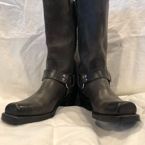 Gray Frye harness boots